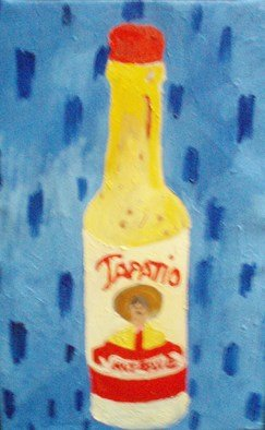 Patrice Tullai, Hot sauce, 2008, Original Painting Oil, size_width{hot_sauce-1206142044.jpg} X 18 x  inches