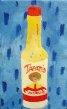 Artist: Patrice Tullai's, title: hot sauce, 2008, Painting Oil