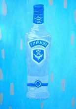 Artist: Patrice Tullai's, title: vodka, 2009, Painting Oil