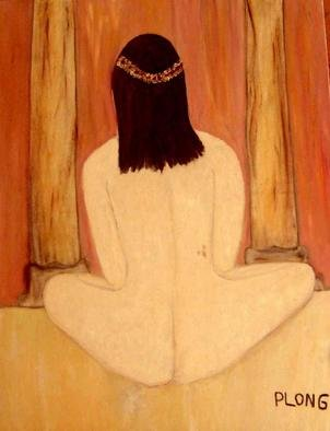 Patrice Longchamps; Meditation, 2003, Original Painting Oil, 36 x 48 inches.