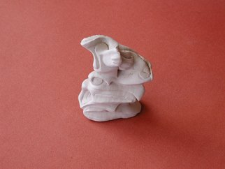 Paul Freeman; Abstract Clay At Enmore, 1996, Original Sculpture Ceramic, 8 x 11 cm.