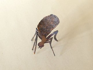 Paul Freeman; Scout Ant, 2011, Original Sculpture Other, 10 x 7 cm. Artwork description: 241  copper repousse metalwork sculpture  ...