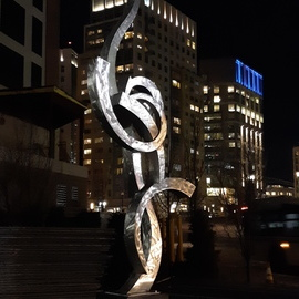 Paul Machalaba, , , Original Sculpture Aluminum, size_width{SOLD_commissions_available-1548555321.jpg} X 13 feet