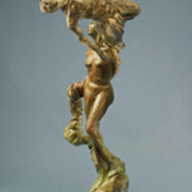 Paul Orzech, , , Original Sculpture Bronze, size_width{Acrobats:_The_Triumph_of_Pericles-1244500618.jpg} X 38 inches