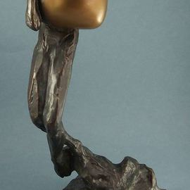 Paul Orzech, , , Original Sculpture Bronze, size_width{Embrace-1564354393.jpg} X 11 inches
