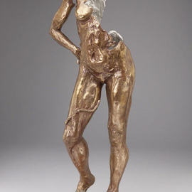 Paul Orzech, , , Original Sculpture Bronze, size_width{Fractured_Goddess-1161728740.jpg} X 24 inches