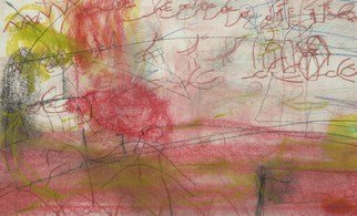 Resendiz Pedro; Tornado, 2005, Original Pastel, 21 x 13 inches. Artwork description: 241   21. 0 ...