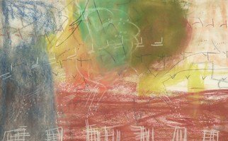 Resendiz Pedro; Tornado II, 2005, Original Pastel, 21 x 13 inches. Artwork description: 241   21. 0 ...