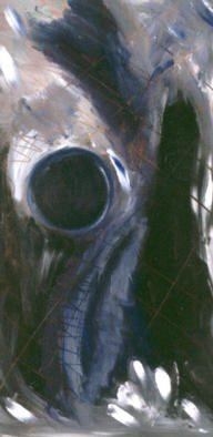 Peggie Clara; Dark Hour, 2001, Original Painting Acrylic, 15 x 30 inches. Artwork description: 241 ACRYLIC ON CANVAS...
