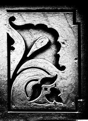 Peter C. Brandt; Castiron Flower, 2010, Original Photography Other, 36 x 24 inches. Artwork description: 241  architectural details, sculpture, flowers, floral, abstract, architectural, graphic, photography, New York City  (c)2013PeterC. Brandt,            ...