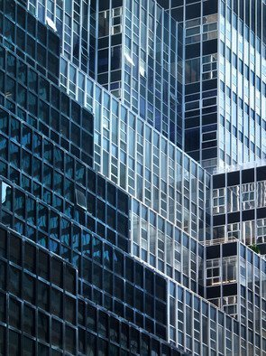 Peter C. Brandt; City Graphics 1, 2012, Original Photography Other, 36 x 24 inches. Artwork description: 241 Mid- town east, abstract, architectural, graphic, photography, New York City, (c)2013PeterC. Brandt,          ...