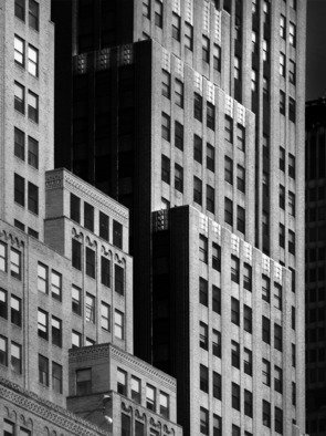 Peter C. Brandt; Shadowplay 2, 2012, Original Photography Other, 36 x 24 inches. Artwork description: 241  b/ w, black and white, abstract, architectural, graphic, photography, New York City, (c)2013PeterC. Brandt        ...