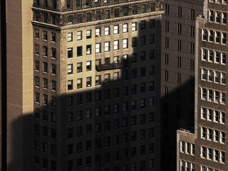Peter C. Brandt; Shadowplay 3, 2012, Original Photography Other, 36 x 24 inches. Artwork description: 241 brown, abstract, architectural, graphic, photography, New York City  (c)2013PeterC. Brandt,       ...