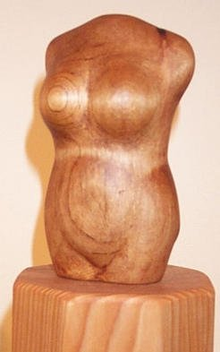 Phil Parkes; Ruby, 2003, Original Sculpture Wood, 3 x 10 inches.