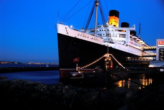 Timothy Oleary; Queen Mary Evening 2, 2008, Original Photography Other, 11 x 14 inches. Artwork description: 241  The Queen shines in the early evening light. ...