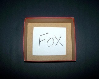 C. A. Hoffman, 'Fox In A Box', 2008, original Photography Color, 10 x 8  inches.