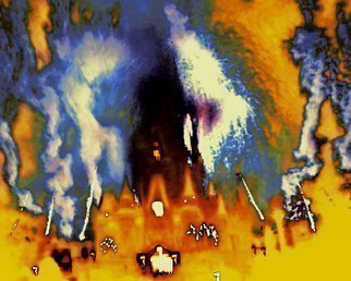 C. A. Hoffman, 'KnevverLand Is Burning I', 2009, original Digital Art, 10 x 8  inches. Artwork description: 7059  This is an original photo that has been digitally- painted to create an original work of art.     ...