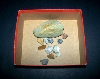 C. A. Hoffman, 'Rocks In A Box', 2008, original Photography Color, 10 x 10  inches.