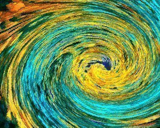 C. A. Hoffman, 'Wormhole Van Gogh Revisited', 2010, original Mixed Media, 10 x 8  inches. Artwork description: 5475  This is an original photo that has been digitally- painted to create an original work of art.                                                              ...