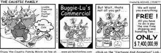 Michael Pickett, 'Buggie Lu Commercial', 2003, original Comic,    inches.