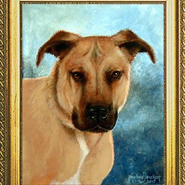Michael Pickett, , , Original Painting Acrylic, size_width{Commissioned_Pet_Portrait-1438108667.jpg} X 14 inches