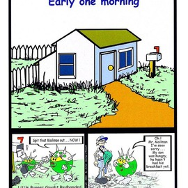 Michael Pickett, , , Original Comic, size_width{Early_One_Morning-1199694125.jpg} X