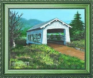 Michael Pickett; Sandy Creek 1921 Covered ..., 2012, Original Painting Acrylic, 10 x 8 inches. Artwork description: 241     You can learn how to paint The Sandy Creek Covered Bridge. Go to pickettonline. com, click on ENTER, and on the top left corner click on You- Tube.   ...