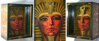 Olesya Novik; Pharaoh 3d, 2015, Original Mixed Media, 28 x 34 cm. Artwork description: 241     pharaoh, 3d picture, three- dimensional image, optical illusion, living picture, unique painting, exclusive , luxury, 3d art, resin,        ...
