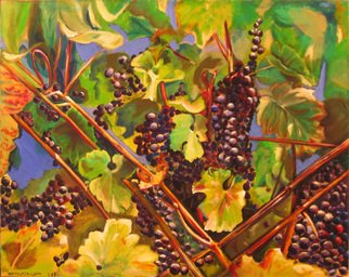 Patricia Larkin Green; Dry Creek Harvest, 2007, Original Painting Oil, 24 x 30 inches. Artwork description: 241    Dry Creek Harvest  oil painting   ...