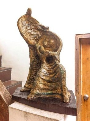 John Paul Dalisay; Family Group 1, 2015, Original Sculpture Clay, 10 x 15 inches. Artwork description: 241    Adobe    ...