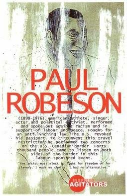 David Lester; Paul Robeson, 2003, Original Printmaking Giclee, 11 x 17 inches. Artwork description: 241 Giclee print. One of a ten poster series