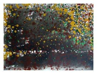 Pranjal Arts; Dots Of Colors, 2019, Original Painting Acrylic, 3 x 4 feet. Artwork description: 241 different colors, bright colors, drps are used...