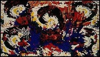 Pygoya Rodney Chang-Phd; Geisha, 1990, Original Painting Oil, 96 x 60 inches. Artwork description: 241 Large oil on canvas by Rodney Pygoya Chang; designed with IBM with Lumena software in late 80s; render to oil on canvas; has been in a solo exhibition at the Las Vegas Art Museum, NV....