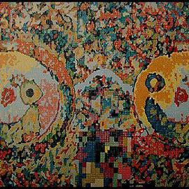 Pygoya Rodney Chang-Phd, , , Original Painting Oil, size_width{Homage_to_John_Lennon-1146271686.jpg} X 48 inches