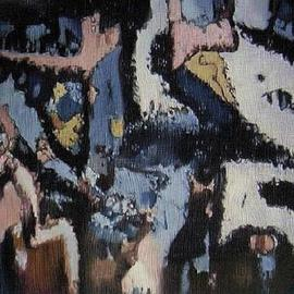 Pygoya Rodney Chang-Phd, , , Original Printmaking Giclee, size_width{Night_Life-1147496506.jpg} X 20 inches