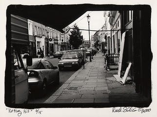 Rachel Schneider; London 19, 2002, Original Photography Black and White, 9 x 6 inches.