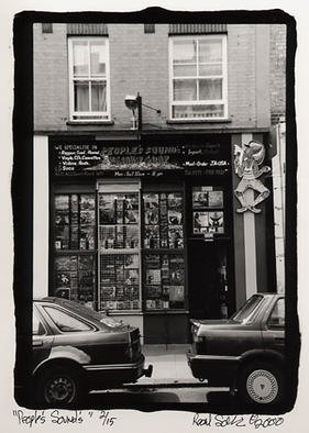 Rachel Schneider; London 21, 2002, Original Photography Black and White, 6 x 9 inches.