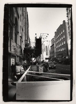 Rachel Schneider; New York 3, 2002, Original Photography Black and White, 8 x 10 inches.