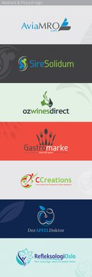 Maulik Shah; Symbolic Logo, 2014, Original Graphic Design,   inches. Artwork description: 241  Custom Logo Design services from at affordable price. We provide vector logo design, identity creation solutions to all sizes of businesses. You can check our services at here: