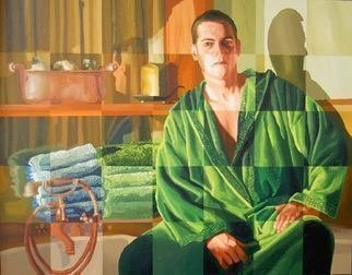Raphael Perez  Israeli Painter ; Realistic Painter Artist, 2018, Original Painting Acrylic, 140 x 110 cm. Artwork description: 241 realistic painter artist   raphael perez israeli artists painter realism art paintings ...