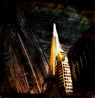 Reuben Njaa; Landmark San Francisco, 2006, Original Photography Color, 48 x 36 inches. Artwork description: 241  Landmark revisted ...