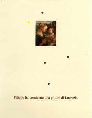 Robert Arnold; Filippo Ha Verniciato Una..., 2006, Original Printmaking Monoprint, 8.5 x 11 inches. Artwork description: 241  Ink on paper. ...