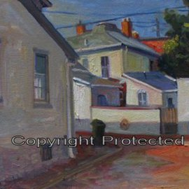 Ron Anderson, , , Original Painting Oil, size_width{East_Hoster_Street_and_South_Lazelle_Street-1440685592.jpg} X 16 inches