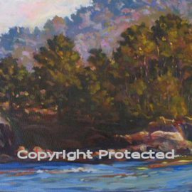 Ron Anderson, , , Original Painting Oil, size_width{June_in_California-1440710542.jpg} X 16 inches