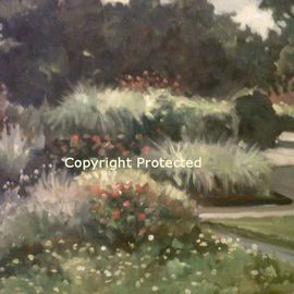 Ron Anderson, , , Original Painting Oil, size_width{Late_Summer_in_Bloom-1440710672.jpg} X 16 inches