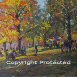 Ron Anderson, , , Original Painting Oil, size_width{Regatta_afternoon-1440685425.jpg} X 16 inches