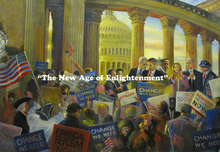 Artist: Ron Anderson's, title: The New Age of Enlightenmen..., 2010, Painting Oil