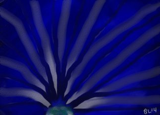 Robert Bobby Lyons; Blue Hope, 2014, Original Digital Art, 4 x 12 inches. Artwork description: 241              collection of colors             ...