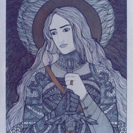 Artist: Duchy Man Valder�, title: Eternal, 2000, Original Illustration