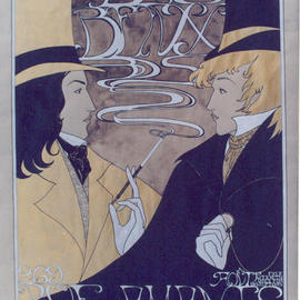 Artist: Duchy Man Valder�, title: Les Beaux poster, 2003, Original Illustration